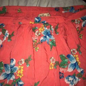 Pink Hollister skirt